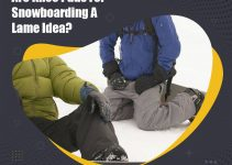Knee Pads a Lame Idea For Snowboarding