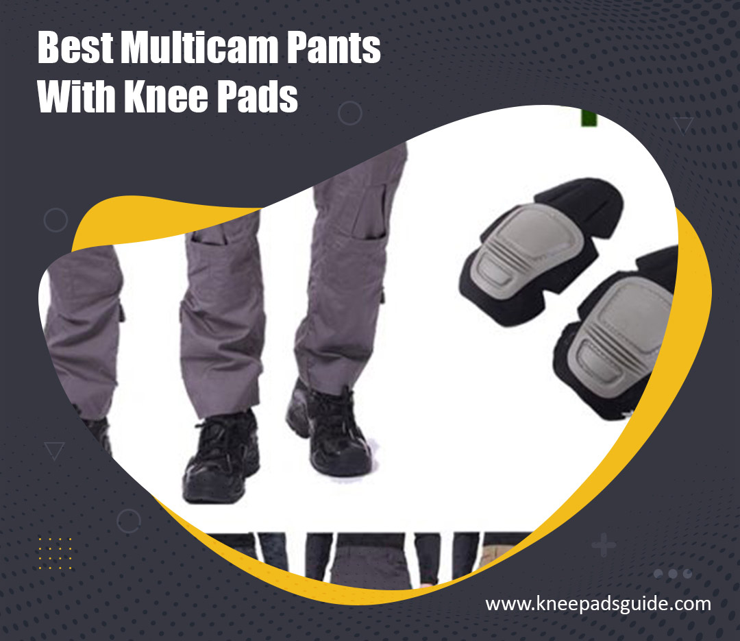 Multicam pants with knee pads