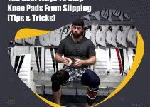 stop knee pads from slipping