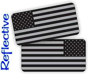 American Flag Reflective Hard Hat Stickers