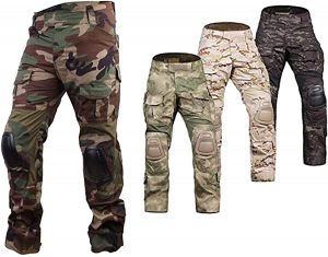 Emerson Airsoft Hunting Tactical Pants Combat Gen3 Pants with Knee Pad